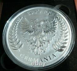 2020 Germania Mint. 999 Argent Bunc 1 Kilo 80 Marques Pièce Avec Box&coa