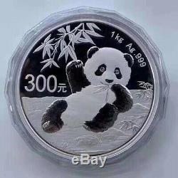 2020, La Chine Argent Panda Monnaie Argent Kilo Panda Coin