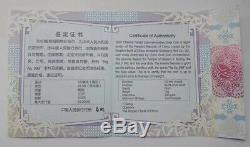 2020, La Chine Panda 1 Kilo Silver Coin Box Et Coa