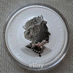 2020 Lunar Souris 1 Kilo Silver Coin