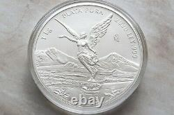 2020 Mo Mexique 1 Kilo D'argent Libertad, Menthe Limitée De 500 Pièces. 999 Argent