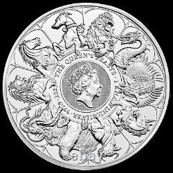 2021 1 Kilo British Silver Queens Beast Completer Coin (bu)