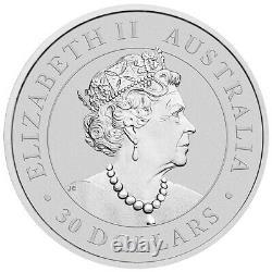 2021 Koala Australien 1kg. 9999 Pièce De Bullion D'argent 1 Kilo La Monnaie Perthe
