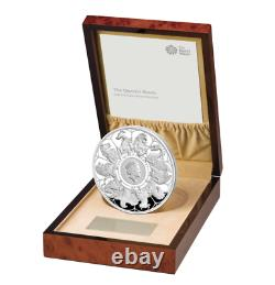 2021 The Queen's Beasts Completer Uk 1 Kilo Silver Proof Coin Seulement 75 Minted