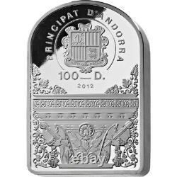 500 Ans La Madone Sixtine De Raphaël. 1 Kilo Silver Proof Coin Andorra 2012