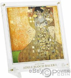 Adele Gustav Klimt 1 KG Kilo Argent Monnaie 100 $ Îles Salomon 2020