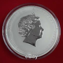 Australie Kilo Lunar Silver Series 2014 Année Du Cheval Bu Perth Mint Avec Box