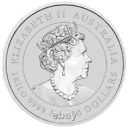Australien 30 Dollar 2021 Jahr Des Ochsen Ox (2.) Lunaire Iii. 1 Kilo De Silber St