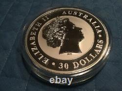 Australien Kookaburra 1 Kilo Silber 2013 Original Neu Mit Kapsel Perth