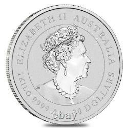 Beaucoup De 5 2021 1 Kilo Argent Lunar Année De L'ox Bu Australien Perth Mint Dans