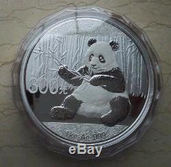 Chine 2017 Argent 1 Kilo Panda Coin