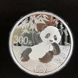 Chine 2020 Argent 1 Kilo Panda Coin