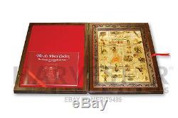 Da Vinci Codex 24 Pièces Coin Set- 1 Kilo 2011 Niue 32,70 Oz. Argent Pur