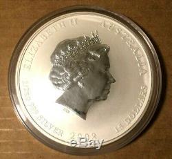 Exercice 2008 De La Souris Demi-1/2 Kilo Argent Rat Lunaire Australie Chine Perth Mint