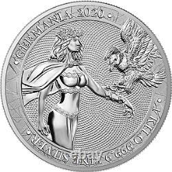 Germania 2020 80 Mark Germania 1 Kilo 1 KG 999,9 Pièces D'argent