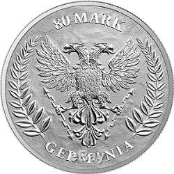 Germania 2020 80 Mark Germania 1 Kilo 1 KG 999,9 Silver Coin