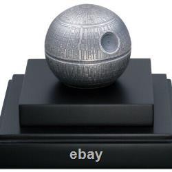 Guerres D'étoiles Death Star Niue 100 Dollars 2021 1 Kilo KG Pièce D'argent Mintage 299