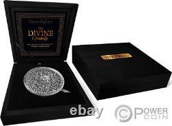 Inferno La Divine Comédie 1 KG Kilo Argent Pièce 10000 Francs Cameroun 2021
