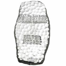 Kilo 32,15 Oz Argent. 999 Tombstone Arizona Bar Fin Scottsdale Territorial Mint