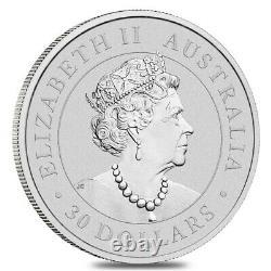 Lot De 2 2021 1 Kilo Silver Australian Koala Perth Mint. 9999 Bu Fine Dans Le Chapeau