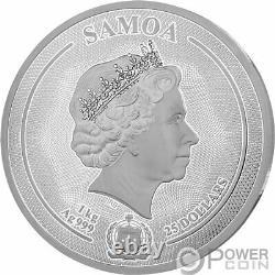 Majestic Faune The Deer 1 KG Kilo Argent Monnaie 25 $ Samoa 2020