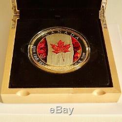 Maple Leaf Forever 1 KG Kilo Argent Épreuve Numismatique 250 $ Canada 2016 Tirage Limité