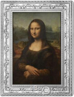 Mona Lisa Gioconda 1/2 KG Kilo Silver Coin 250 France 2019