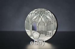 Palau 2017 $ 50 Puits Tiffany Cathédrale 1 KG Argent-kilo Coin Limited Edition