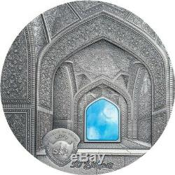 Palau 2020 $ 50 Tiffany Art Ispahan Kilo Silver Coin 1 KG