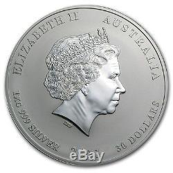 Perth Mint Australie $ Série 30 Lunar II Lapin 2011 1 KG Kilo. 999 Silver Coin