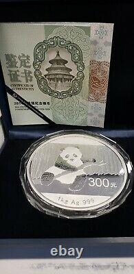 Pièce Kilo Silver Panda Proof 2014 Avec Boîte Et Coa