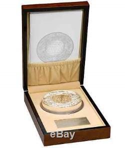 Royaume-uni 2013 500 Livres Prince George De Christening Cambridge 1 KG Silver Coin Kilo