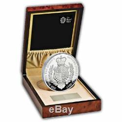 Sapphire Jubilee 2017 Royaume-uni Argent Preuve Kilo Coin De La Reine