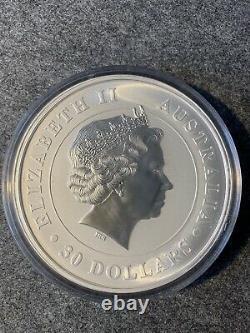 Silbermünze 1kg Koala Australien 2014 1 Kilo 999 Argent Mit Rechnung