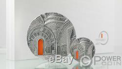 Tiffany Art Orientalisme Château Sammezzano 1 KG Kilo Argent Monnaie 50 $ Palau 2018