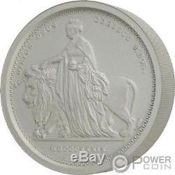 Una Et Le Lion 1 KG Kilo Argent Monnaie 100 £ Livres Alderney 2019